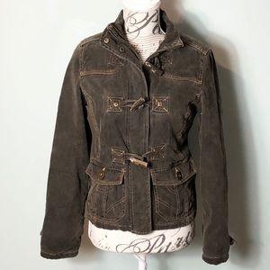 BKE corduroy toggle coat size small